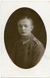 Fliegerei 1.Weltkrieg - Portraitfoto eines Angehörigen der Feldflieger-Abteilung 2