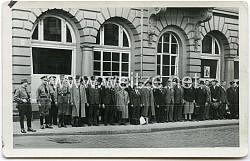 Foto, Mitglieder der Deutschen Arbeitsfront (DAF)