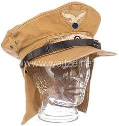 Luftwaffe Afrikakorps Tropenschirmmütze, sogenannte