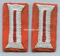 Wehrmacht Heer Paar Ärmelpatten für Mannschaften im Kreiswehrersatzamt bzw. Feldgendarmerie