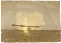 Foto Fliegerei 1.Weltkrieg: Flugzeug beim Start