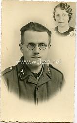 Portraitfoto eines Gefreiten der Luftwaffe