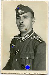 Portraitfoto eines Unteroffizier der Wehrmacht mit SA-Sportabzeichen