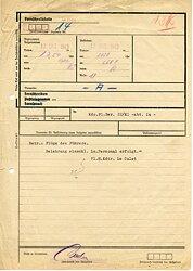 Flughafenkommandantur Le Culot ( Belgien ) - Fernschreiben vom 12.10.1943