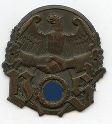 """WHW - Gau 40 : Westmark """" Volkssozialistische Selbsthilfe """" - 31.8.1933"""