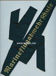 "Mützenband ""Marineflugabwehrschule"" ."