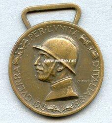 Italien Verdienstmedaille 1915 - 1918