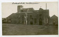 Foto Erster Weltkrieg: Zuckerfabrik Ortschaft Etricourt (Frankreich)