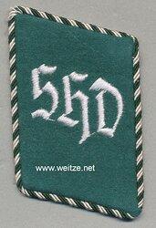SHD Sicherheits- und Hilfsdienst Einzel Kragenspiegel für Mannschaften