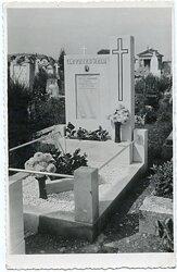Foto, Grab eines verunglückten Pionier bei einem Manöver 1938