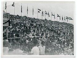 Foto, Länderkampf vom 25.6.1934 Frankreich gegen Deutschland