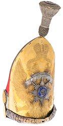 Rußland Offiziers-Grenadiermütze des Leibgarde-Pawlowski-Regiments, 1878-1914