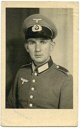 Portraitfoto, Angehöriger des Infanterie Rgt.469