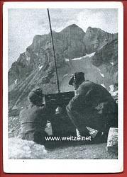 """1. Gebirgsjäger-Division - """" Feldpostkarte der Edelweiss-Division """""""