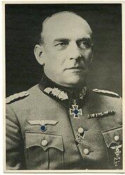 Ritterkreuzträger Generaloberst Nikolaus von Falkenhorst - Portraitfoto