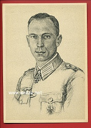 Heer - Propaganda-Postkarte von Ritterkreuzträger Karl Torley