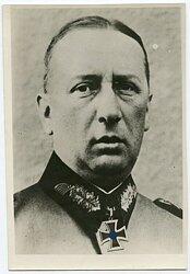 Pressefoto, Ritterkreuzträger General von Apell