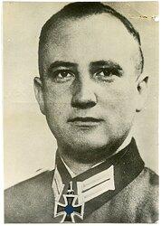 Pressefoto, Ritterkreuzträger Werner Pfitzer