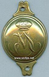 Bayern Messingbeschlag für ein Offizierszaumzeug, um 1810