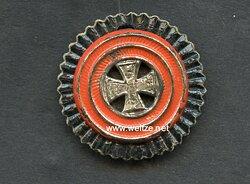 Württemberg Schirmmützenkokarde für Offiziere Landwehr