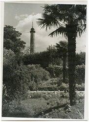Pressefoto, Turm der Entdeckung bei Lorient