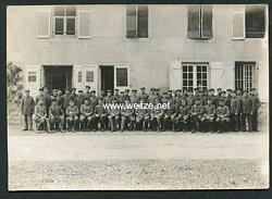 1.Weltkrieg Mannschaftsfoto von Angehörigen des Deutschen Heeres.