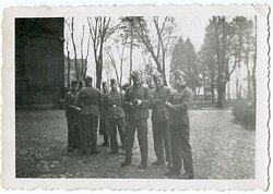 Foto, Angehörige der Unteroffiziersschule in Berent Westpreußen 1941
