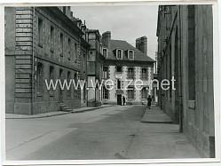 Pressefoto, Wohnquartiere für Angehörige der Kriegsmarine in Lorient