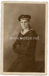 1.Weltkrieg Foto: Angehöriger der Werft.Division.II der Kaiserlichen Marine