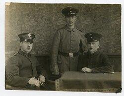 1.Weltkrieg Foto, Angehörige des 1.Landsturm-Infanterie-Bataillon des VII.Armeekorps