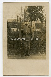 1.Weltkrieg Foto, Angehöriger des Deutschen Heeres 6.Regiment