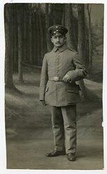 1.Weltkrieg Foto, Preußen Angehöriger des 27.Regiment