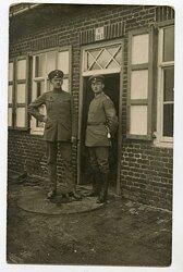 1.Weltkrieg Foto, Wachtmeister der Feldgendarmerie mit Seitengewehr