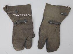 Wehrmacht Paar Handschuhe für Kradschützen