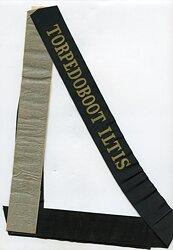"""Reichsmarine Mützenband """"Torpedoboot Iltis"""""""