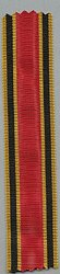 Bundesrepublik Deutschland ( BRD ) Original Band zum Bundesverdienstkreuz Kreuz und Medaille am Band