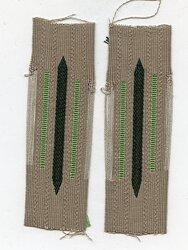 Wehrmacht Heer Paar Kragenspiegel für Mannschaften Panzergrenadier