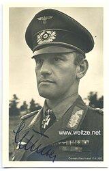 Heer - Originalunterschrift von Ritterkreuzträger Generalleutnant Alfred Gause