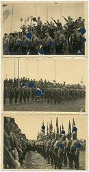 Foto, Kundgebung von Organisationen der NSDAP mit Adolf Hühnlein