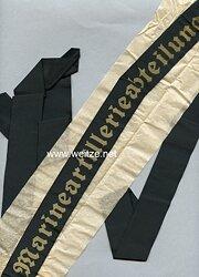 """Mützenband """"3. Marineartillerieabteilung 3."""""""