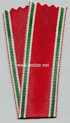 Originales Band Bulgarien Kriegsdenkmünze 1914-1918