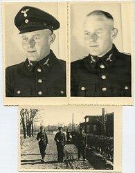 Foto, Angehöriger der Deutschen Reichsbahn Besoldungsgruppe 17a bis 12.