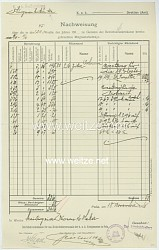 Fliegerei 1. Weltkrieg - K.u.K. Kommando des Seefliegerkorps in Pola - Dokumentenpaar