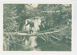 "Waffen-SS - Propaganda-Postkarte - "" Unsere Waffen-SS "" - Spähtrupp"