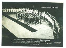 III. Reich - Pressefoto - Bildschau des Tages - Sudetendeutsche Turner im Sportpalast