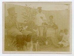 Foto Kolonie, Angehörige der Kaiserlichen Schutztruppe