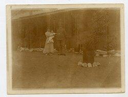 Foto Kolonie, Deutsche Kolonisten in Afrika