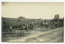 1.Weltkrieg Foto, Frontsoldaten bei einer Erholungspause im Hinterland