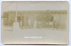 Foto Kolonie, Angehörige der Deutschen Schutztruppe in Afrika