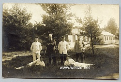 Foto, Angehöriger des Deutschen Heeres 1910